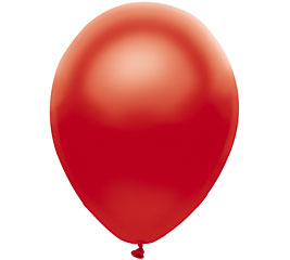 Pearl Red Helium Latex Balloon